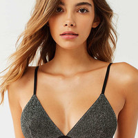Out From Under Izzy Sparkle Triangle Bra | Urban Outfitters