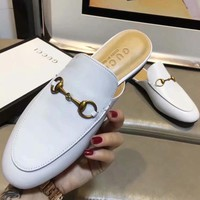Gucci Women Fashion Simple Casual  Slipper Mules  Shoes