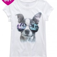 DONUT DOG GRAPHIC TEE | GIRLS GRAPHIC TEES CLOTHES | SHOP JUSTICE