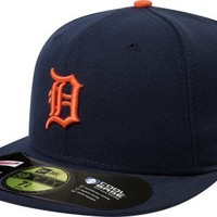 New Era Men's Authentic Collection 59FIFTY® - Detroit Tigers Road Hat 7 5/8