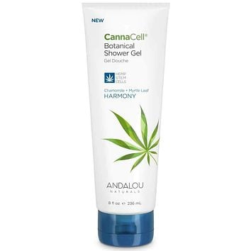 Andalou Naturals Shower Gel, Cannacell, Harmony - 8 Fz
