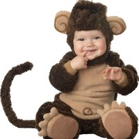 Lil Characters Infant Monkey Costume, Brown/Tan | AihaZone Store