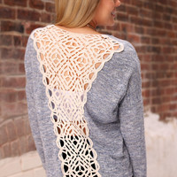 Back Talk Sweater