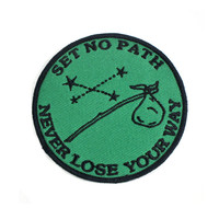 Set No Path Patch - Green