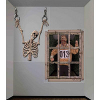 Halloween Decorations: Gruesome Wall Decor 4' X 5.3'