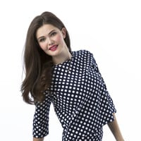 Polka Dot Chicago Top - She Traveled - Online Sister Missionary Fashion Mall