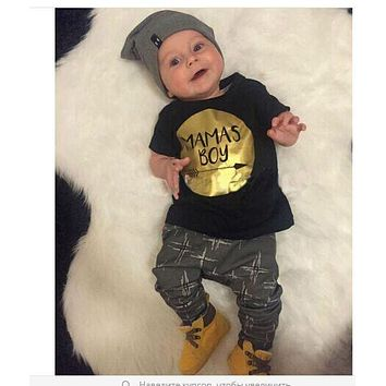 born toddler boys clothes set Baby boy clothes fashion kids clothes for newborns toddlers set