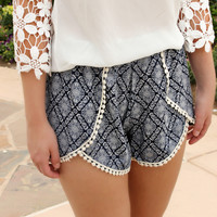 Salty Breeze Pom Shorts