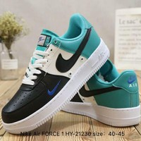 NIKE Air FORCE 1 Colorblock Casual Retro Shoes F-A36H-MY