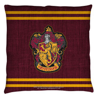 """Harry Potter """"Gryffindor"""" 16x16 or 18x18 Throw Pillow"""