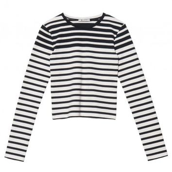 Compact Cotton Long Sleeve T