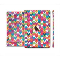 The Color Knitted Full Body Skin Set for the Apple iPad Mini 3