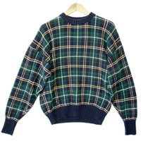 """""""Mad for Plaid"""" Tacky Ugly Golf / Christmas Sweater - The Ugly Sweater Shop"""