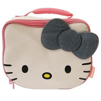 Hello Kitty Insulated Lunch bag White / Pink