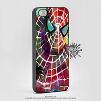 Spiderman Painting Cell Phone Cases For Iphone, Ipod, Samsung Galaxy, Note, Htc, Bb