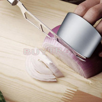 Kitchen Safe Slice Shield Stainless Steel Finger Hand Protector Guard Ring US LS