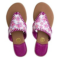 Floral Sandals - Simply Southern