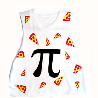 Pizza Pi Muscle Tee