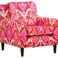 Winston Accent Chair, Sunset, Club Chairs
