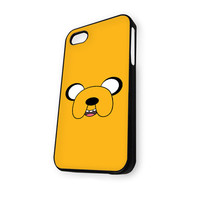 Adventure Time Finn and Jake yellow iPhone 4/4S Case