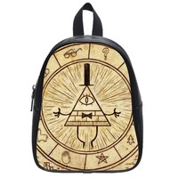 Nymeria 19 Customized Gravity Falls Diy Design For Student's School Bag (Large) Backpack GH-159