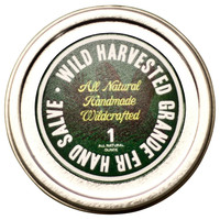 Wild Crafted Hand Salve, Grande Fir, Lotions