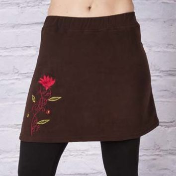 Madhu Fleece Mini Skirt