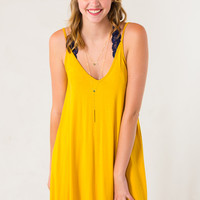 Easy Living Dress in Yellow