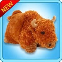 "My Pillow Pets Billy Buffalo Plush, 18""/Large"