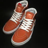 Trendsetter Vans SK8-Hi Old Skool Canvas Ankle Boots Flat Ankle Boots Sneakers Sport Shoes