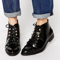 Truffle Collection Cece Lace Up Ankle Boots