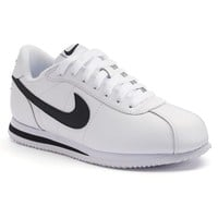 Nike Cortez Grade School Boys' Sneakers (White)