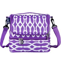 Wildkin Double Decker Lunch Bag - Kids