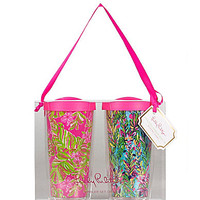 Lilly Pulitzer Hot Spot and Jungle Tumble Insulated Tumbler Set of 2
