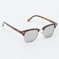 With Love From CA Silver Mirror Sunglasses - Womens Sunglasses
