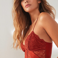 Out From Under Valencia Lace Longline Bra | Urban Outfitters