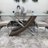 "Snazzy Dinning Table -  Brown 67"" x 35.5""H x 30"""