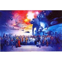 Star Wars Galaxy Poster 24x36