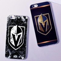 DK NHL puck Vegas Golden Knights champion new fashion Hard Phone Case Cover Coque For iPhone 6 6S 7 8 Plus 4S 5S X XS XR XSMax