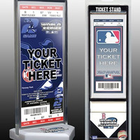 MLB Boston Red Sox Home Plate Ticket Stand, Small, White