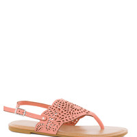 Leilani Sandals in Melon