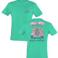 "Limited Edition Simply Southern ""Jeep Hair"" Short sleeve tee"