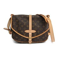 Louis Vuitton Monogram Saumur M42256 Women's Shoulder Bag Monogram BF311295