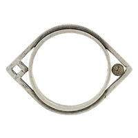Low Luv by Erin Wasson Oblong Bangle - Silver