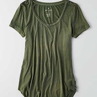 AEO Soft & Sexy Short Sleeve T-Shirt , Olive