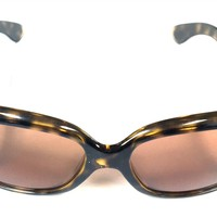 Ray-Ban 4101 Jackie Ohh 710/41 Tortoise Brown Sunglasses w/ G-15 XLT Lens 3F