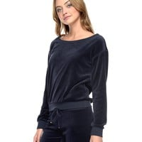 Comfy Boatneck Pullover by Juicy Couture