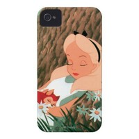 Alice in Wonderland Sleeping iPhone 4 Cover from Zazzle.com