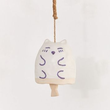 Cat + Fish Hanging Wind Chime | Urban Outfitters