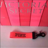New neon coral VS PINK keychain
